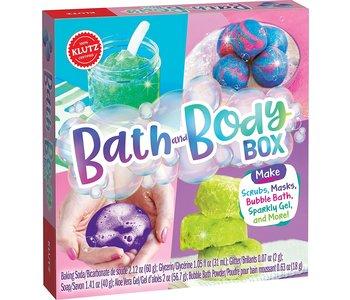 Klutz Book Bath Body Box