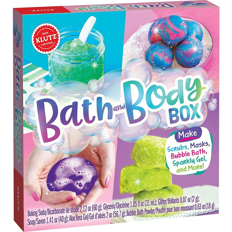 Klutz Klutz Book Bath Body Box
