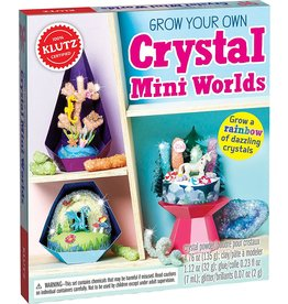 Klutz Klutz Book Crystal Mini Worlds