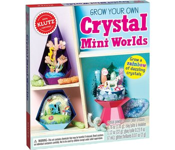 Klutz Book Crystal Mini Worlds
