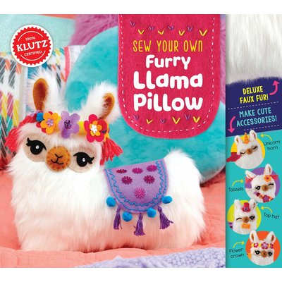 Klutz Klutz Book Sew Your Own Furry Llama Pillow