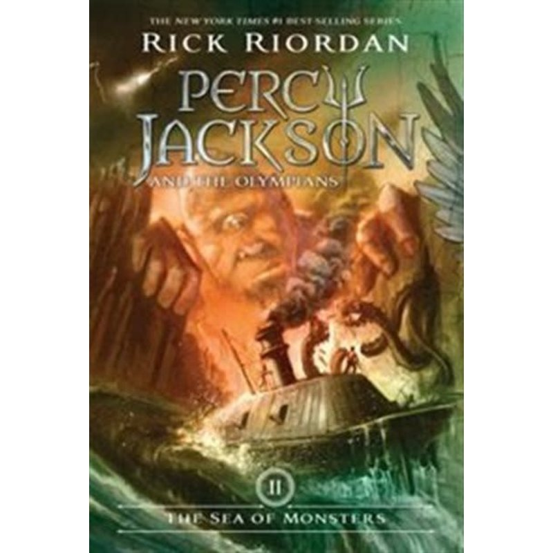 Disney-Hyperion Percy Jackson and the Olympians  #2 The Sea of Monsters
