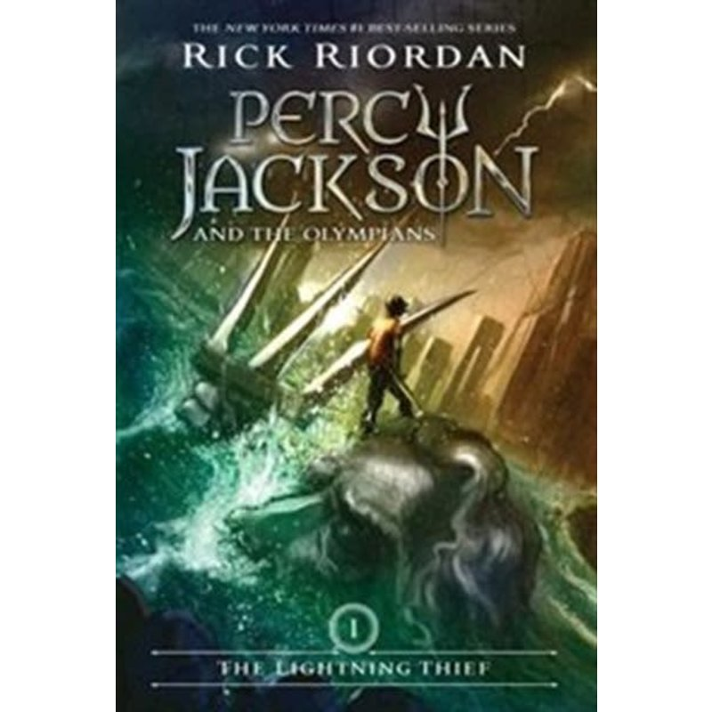 Disney-Hyperion Percy Jackson and the Olympians #1 The Lightning Thief