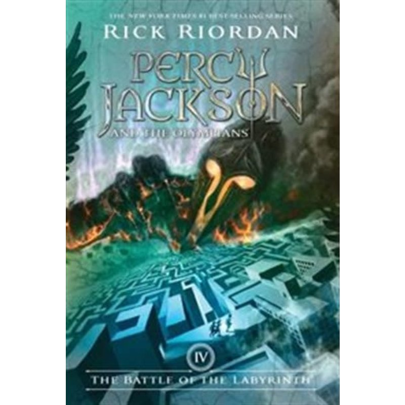 Disney-Hyperion Percy Jackson and the Olympians #4 Battle of the Labyrinth