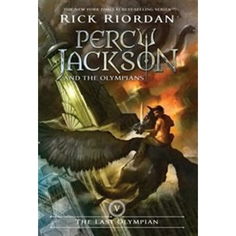 Disney-Hyperion Percy Jackson and the Olympians  #5 The Last Olympian