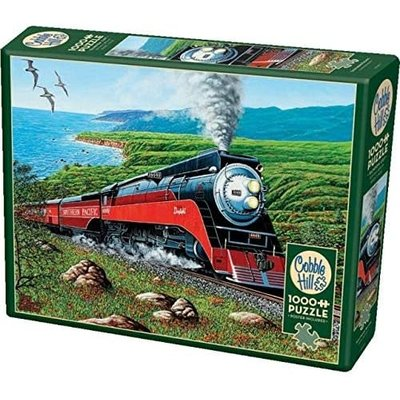 Cobble Hill Puzzles Cobble Hill Puzzle 1000pc Southern Pacific