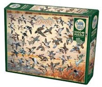 Cobble Hill Puzzle 1000pc Ducks of North America