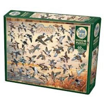 Cobble Hill Puzzles Cobble Hill Puzzle 1000pc Ducks of North America