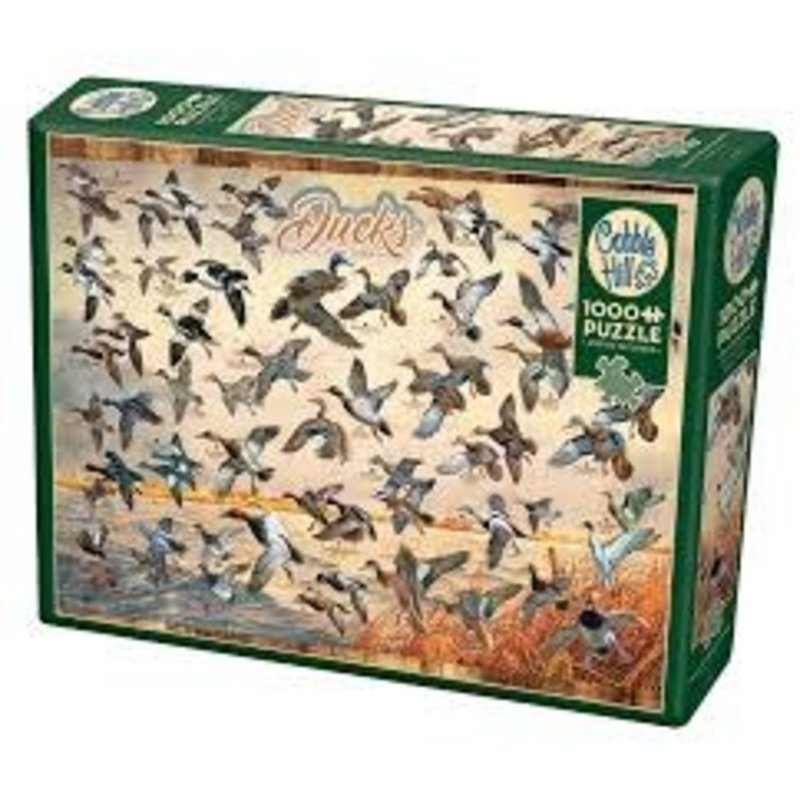 Cobble Hill Puzzles Cobble Hill Puzzle 1000pc Ducks of North America