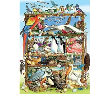 Cobble Hill Family Puzzle 350pc Birds of the World
