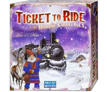 Ticket to Ride Game Nordic Countries