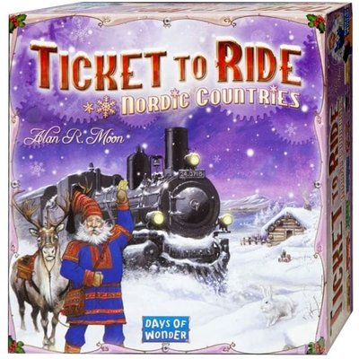 Days of Wonder Ticket to Ride Game Nordic Countries