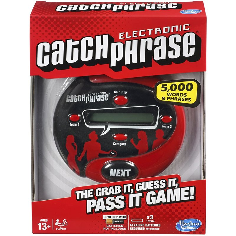 Hasbro Catch Phrase Electronic Game