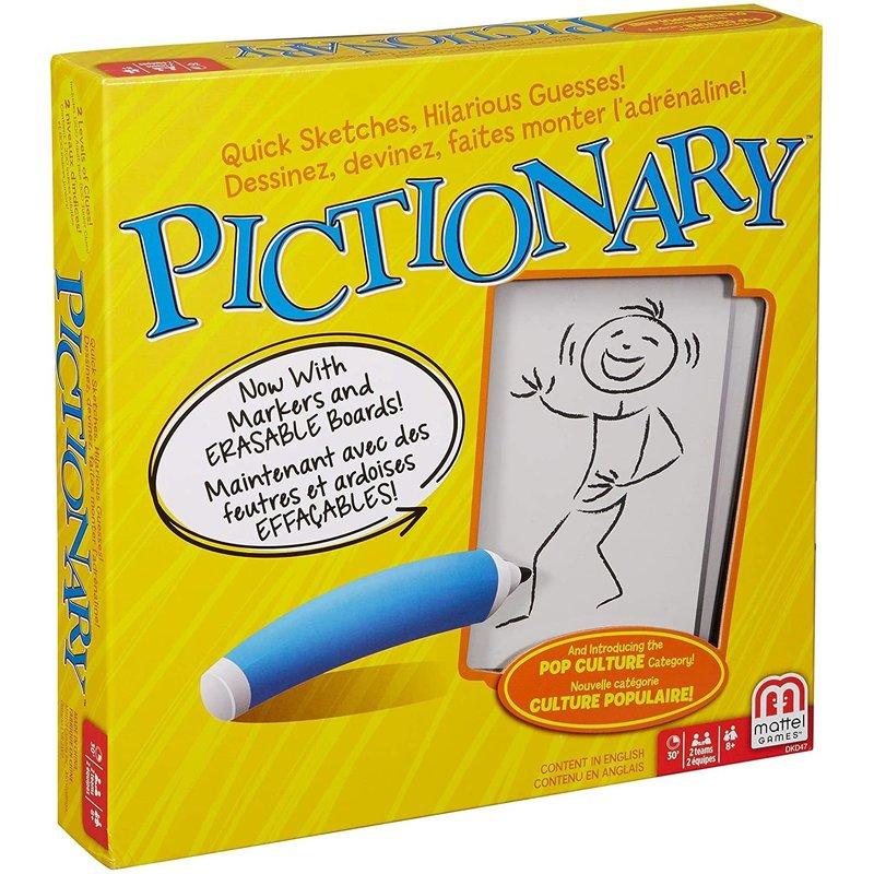 Hasbro Mattel Game Pictionary