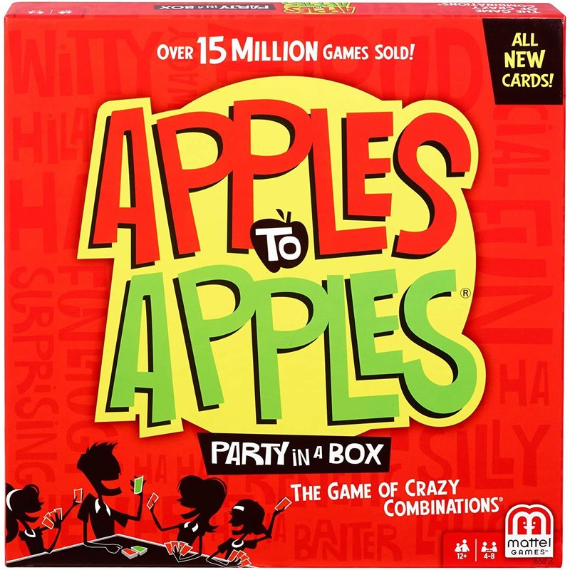 Mattel Game Apples to Apples Party Box