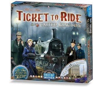 Ticket to Ride Game Expansion: United Kingdom