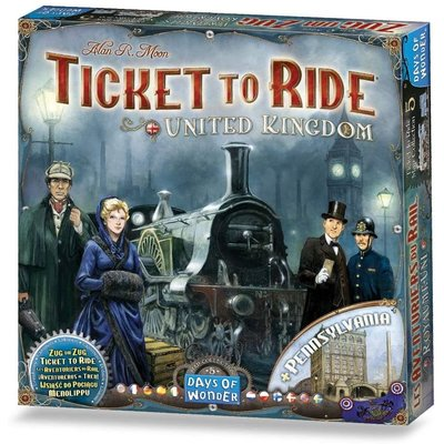 Days of Wonder Ticket to Ride Game Expansion: United Kingdom
