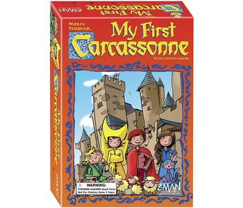 Z-Man Game My First Carcassonne