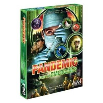 Z-Man Game Pandemic State of Emergency