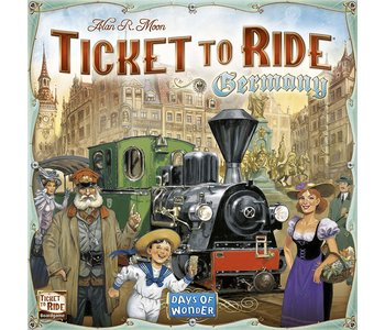 Ticket to Ride Game Germany