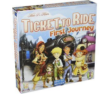 Ticket to Ride Game First Journey Europe