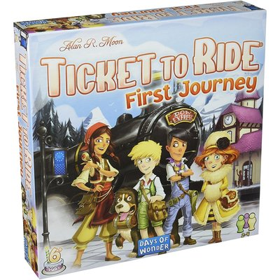 Days of Wonder Ticket to Ride Game First Journey Europe