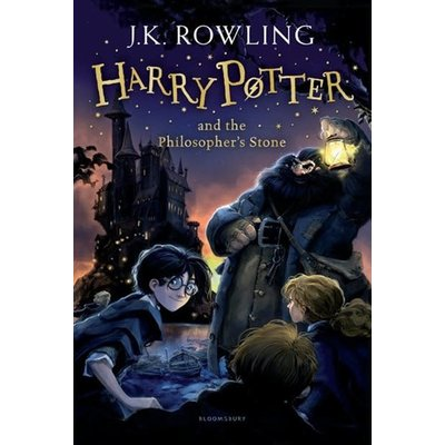 Harry Potter #1 Harry Potter and The Philosopher's Stone