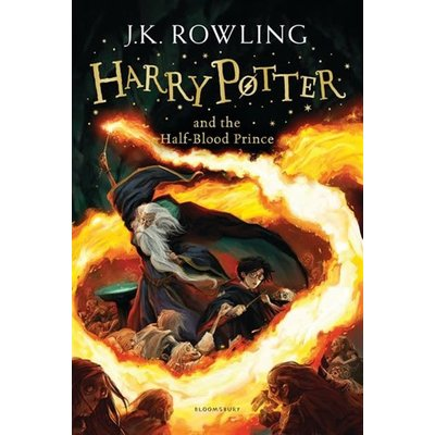 Bloomsbury Book Harry Potter #6 Half Blood Prince