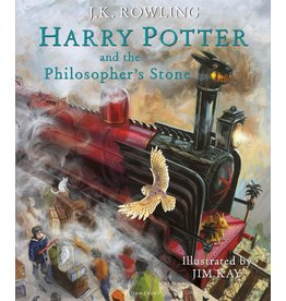 Bloomsbury Book Harry Potter Illustrated Philosopher's Stone
