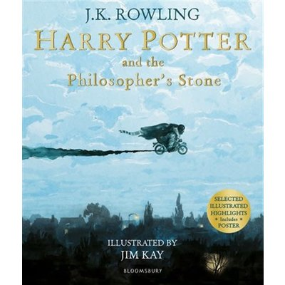 Harry Potter And The Philosopher's Stone Illustrated Edition