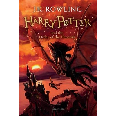 Harry Potter #5 Harry Potter And The Order Of The Phoenix
