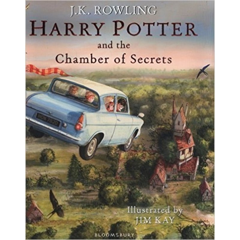 Harry Potter and the Chamber of Secrets Illustrated Editon
