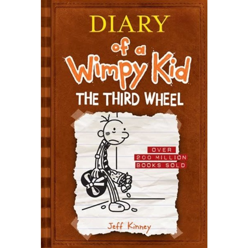 Diary of a Wimpy Kid #7 Third Wheel