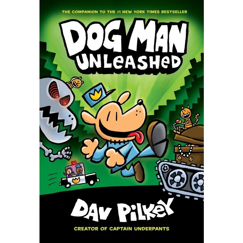 Scholastic Dog Man #2 Pilkey Unleashed