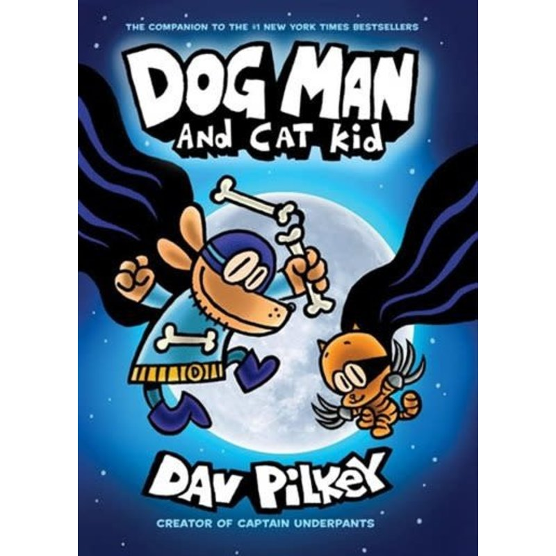 Scholastic Dog Man #4 Dog Man and Cat Kid