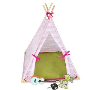 Our Generation Doll Accessory Set: Mini Suite Teepee