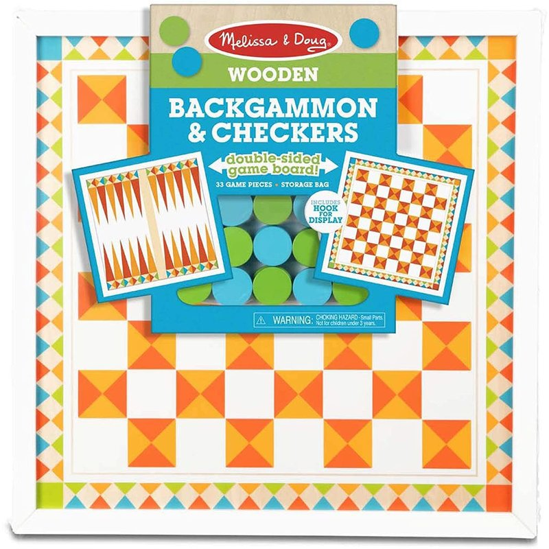 Melissa & Doug Melissa & Doug Board Game Backgammon & Checkers
