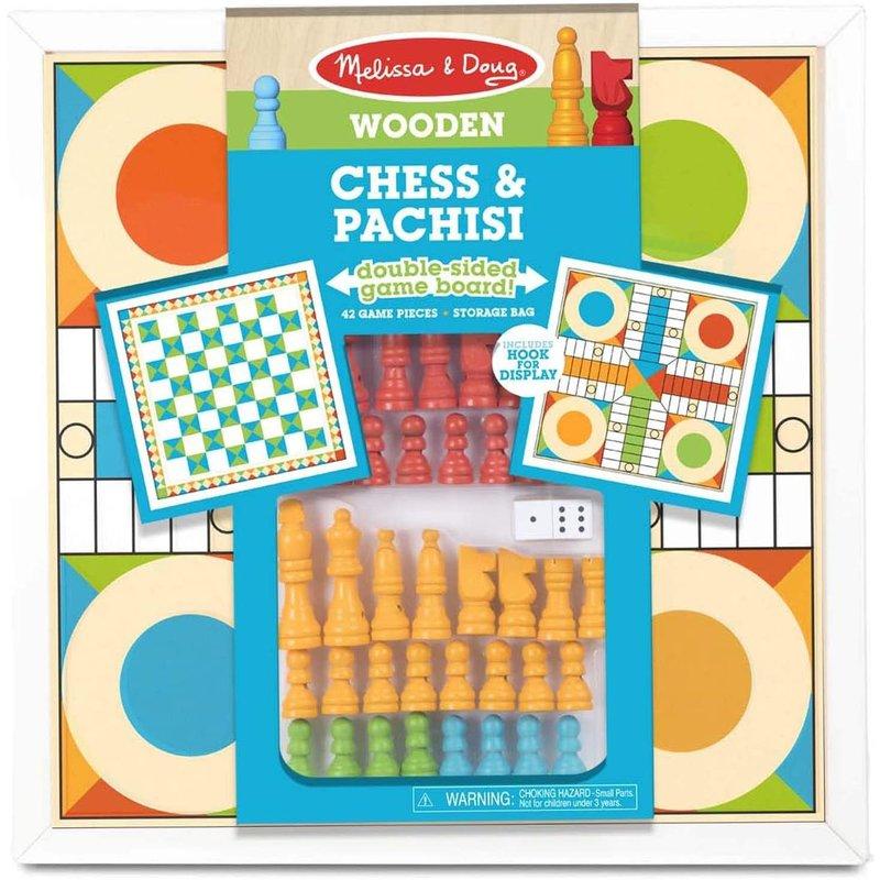 Melissa & Doug Melissa & Doug Board Game Chess & Pachisi