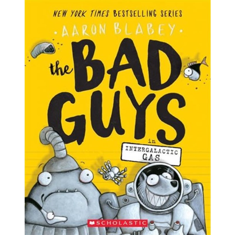 The Bad Guys #5 Intergalactic Gas