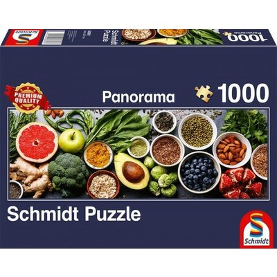 Schmidt Puzzle 1000pc On the Kitchen Table, Panorama