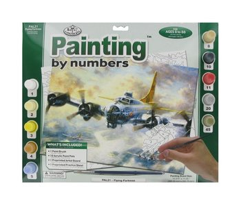 Painting by Number Large Flying Fortress
