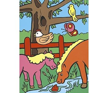 Paint by Number My First Farm Animals