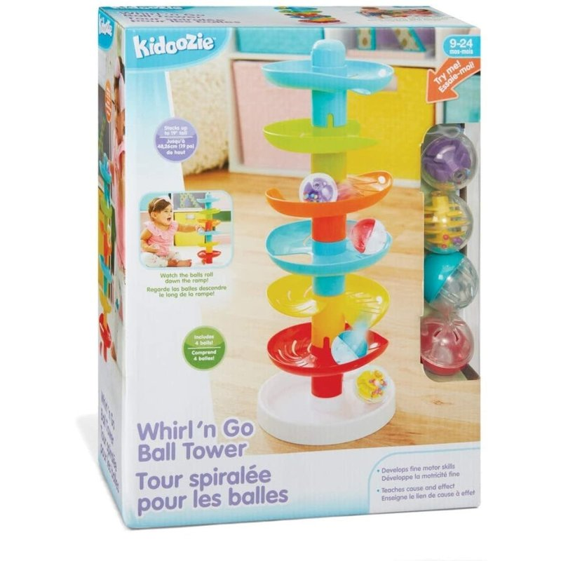 Kidoozie Kidoozie Baby Whirl 'n Go Ball Tower