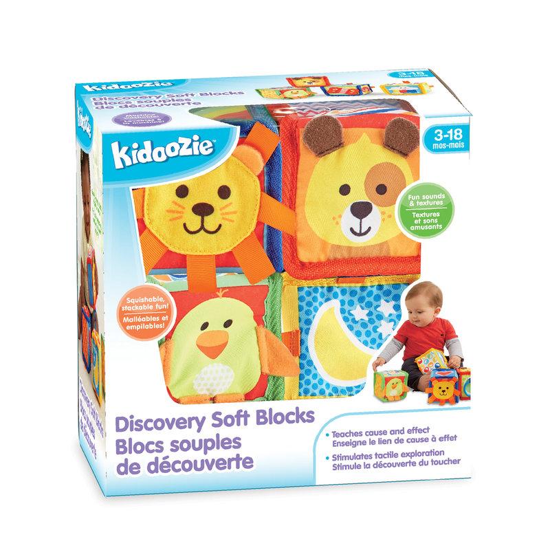 Kidoozie Kidoozie Discovery Soft Blocks