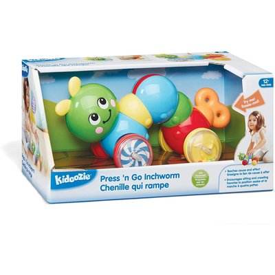 Kidoozie Kidoozie Press 'N Go Inchworm