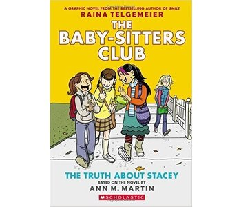 The Baby-sitters Club Graphic Novel #2 The Truth About Stacey