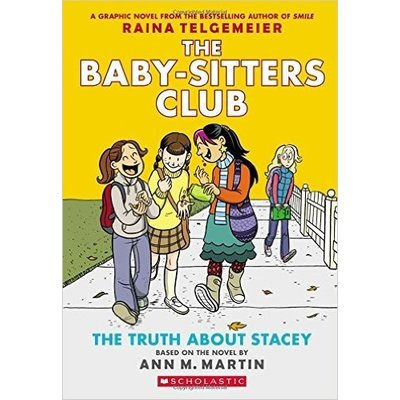 Graphic Novel Baby-sitters Club #2 Truth about Stacey