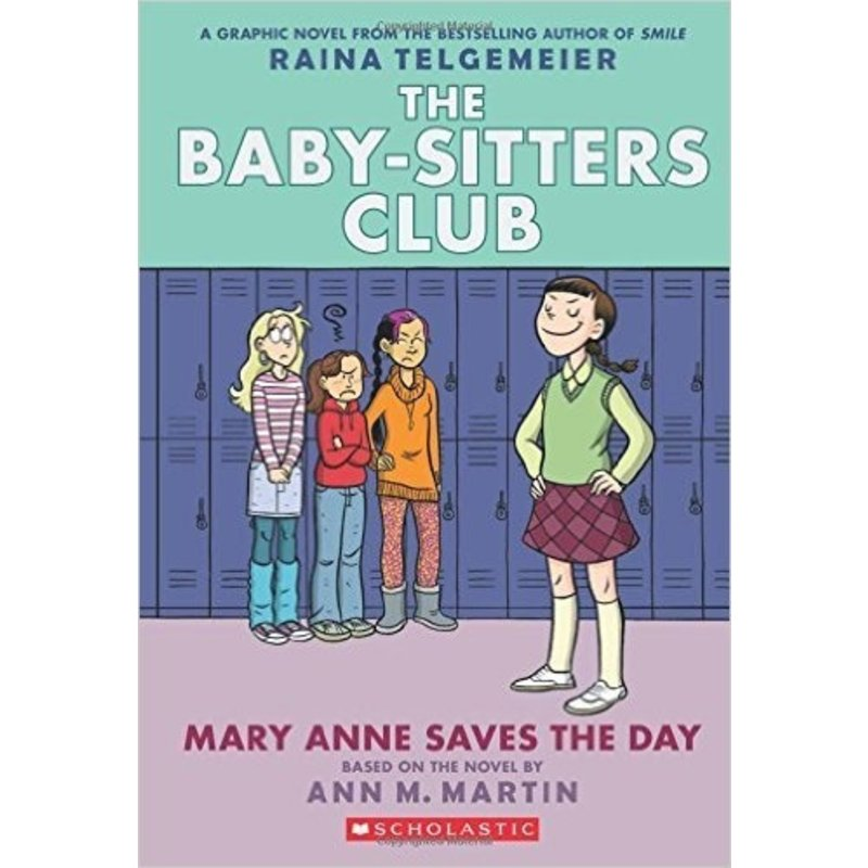 Graphic Novel Baby-Sitters Club #3 Mary Anne Saves the Day