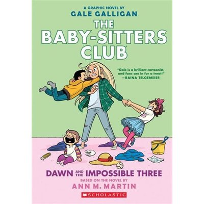 Graphic Novel Baby-Sitters Club #5  Dawn And The Impossible Three