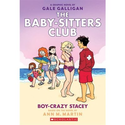 Graphic Novel Baby-Sitters Club #7 Boy Crazy Stacey